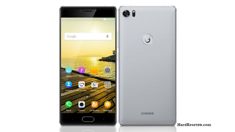 Gionee Elife S8 Hard reset, Factory Reset and Password Recovery