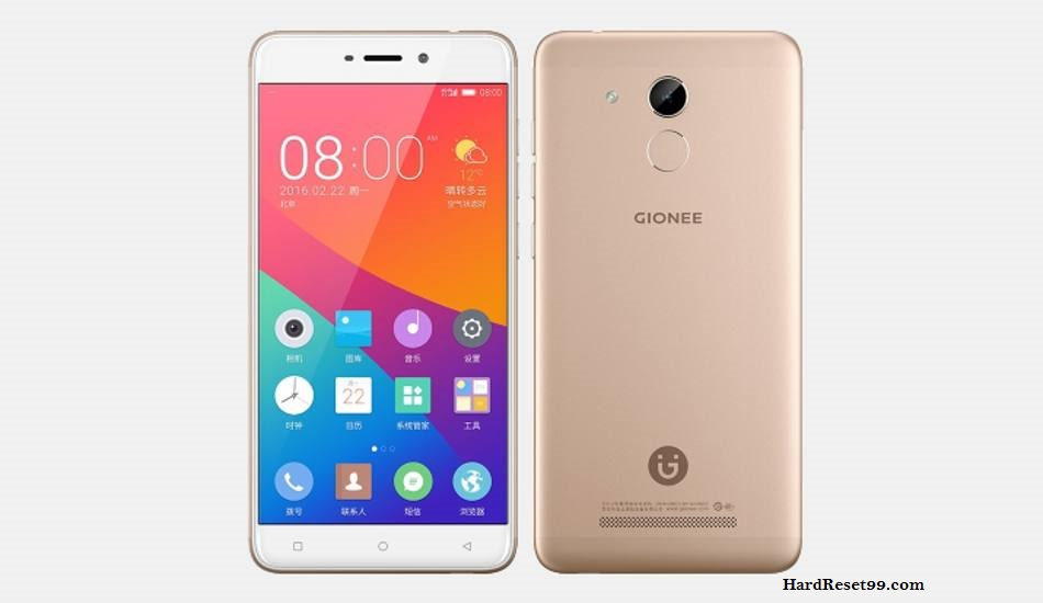 Gionee S5 Hard reset, Factory Reset and Password Recovery