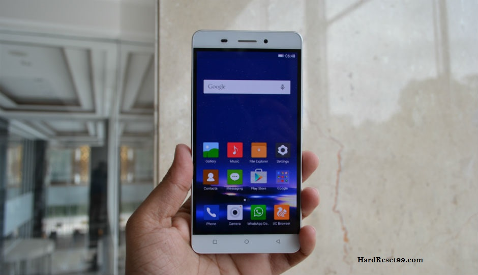 Gionee Marathon M5 Plus Hard reset, Factory Reset and Password Recovery