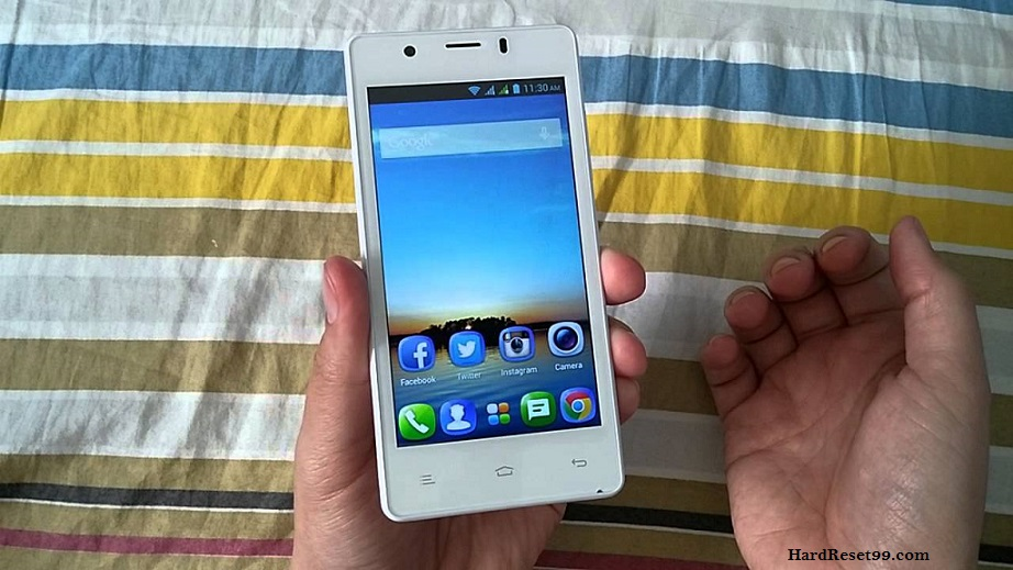 Gionee P4 Hard reset, Factory Reset and Password Recovery