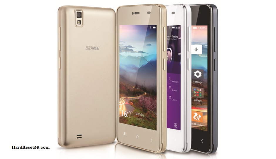 Gionee Pioneer P2M Hard reset, Factory Reset and Password Recovery
