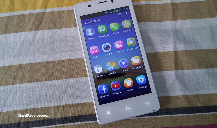 Gionee Pioneer P4 Hard reset, Factory Reset and Password Recovery