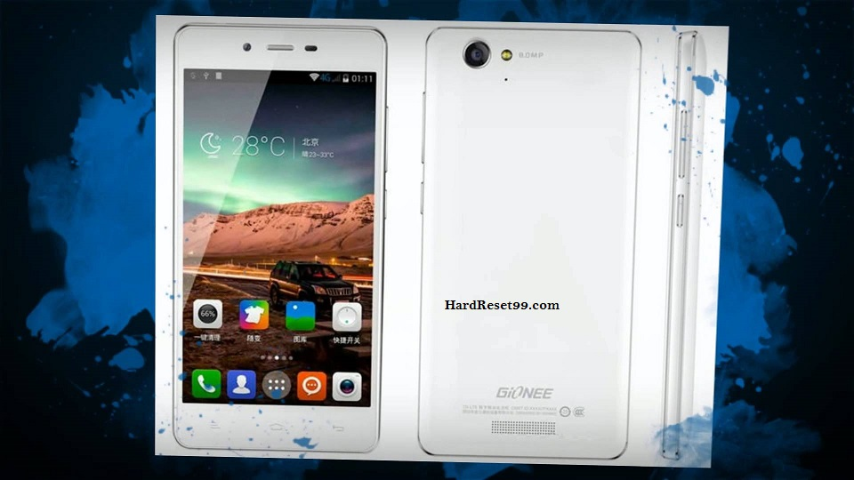 Gionee V188 Hard reset, Factory Reset and Password Recovery