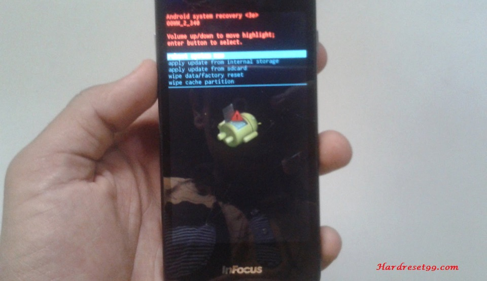 InFocus IN260 Hard reset, Factory Reset and Password Recovery