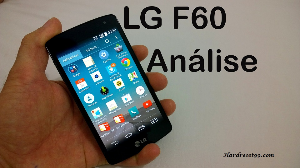 LG F60 Dual Hard reset, Factory Reset and Password Recovery