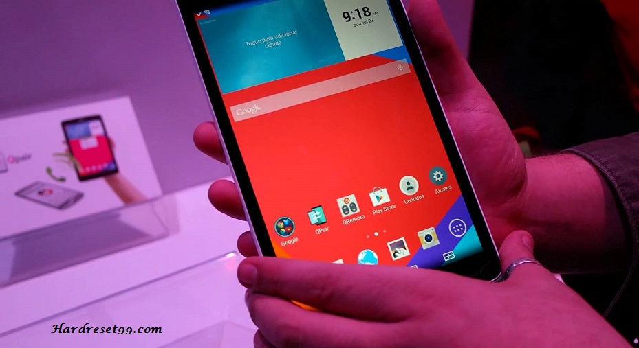 LG G Pad 8.0 V480 Hard reset, Factory Reset and Password Recovery