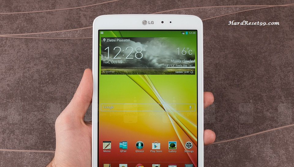 LG G Pad 8.3 Hard reset, Factory Reset and Password Recovery