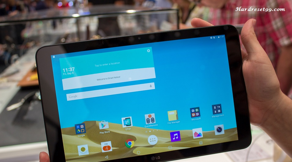 LG G Pad II 10.1 Hard reset, Factory Reset and Password Recovery