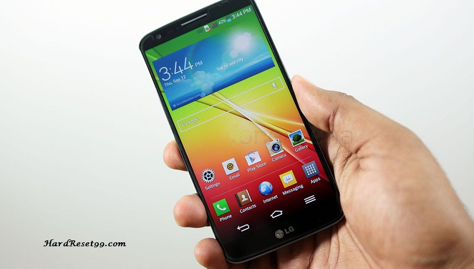 LG G2 F320 Hard reset, Factory Reset and Password Recovery