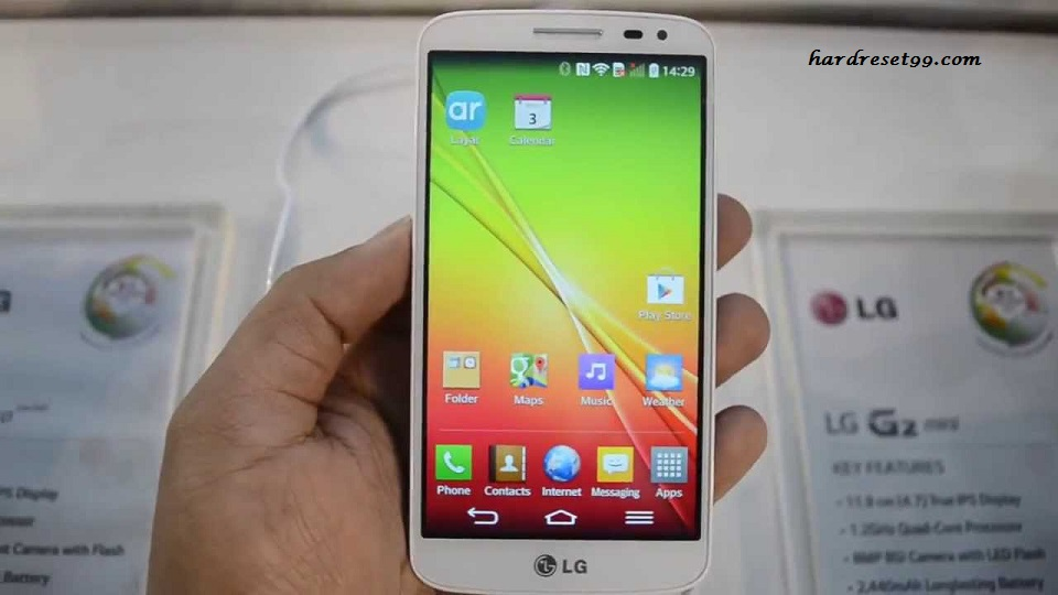 LG G2 mini Dual SIM Hard reset, Factory Reset and Password Recovery