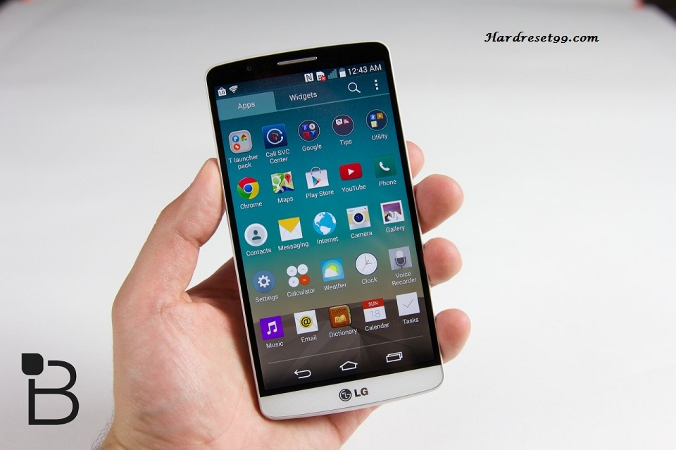 LG G3 A Hard reset, Factory Reset and Password Recovery