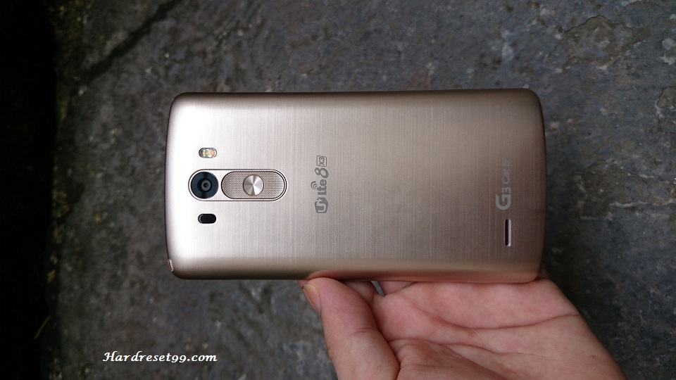 LG G3 F400 Hard reset, Factory Reset and Password Recovery