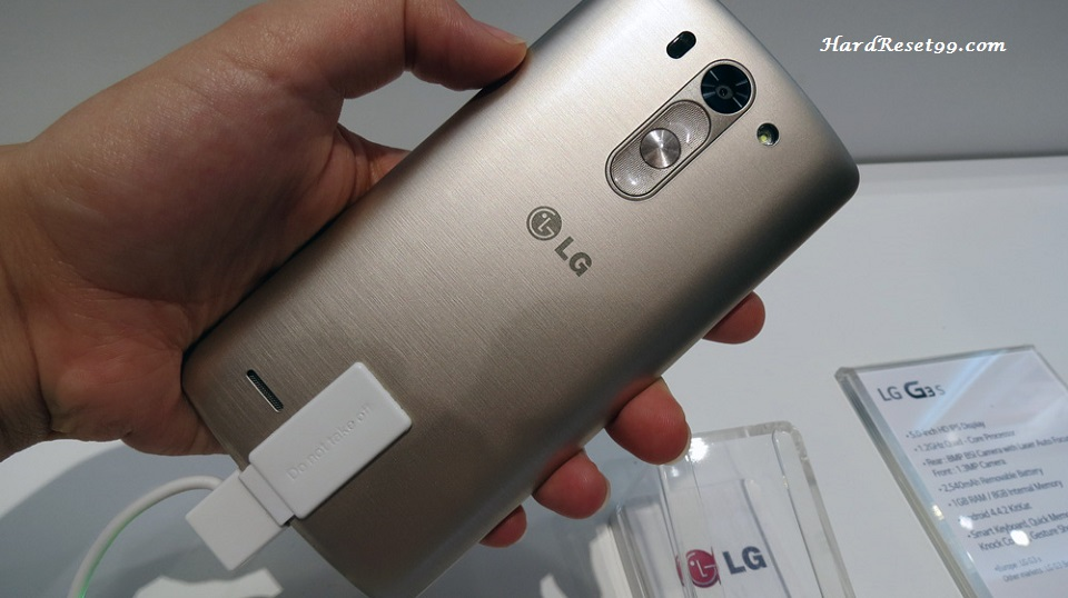LG G3 s Dual Hard reset, Factory Reset and Password Recovery