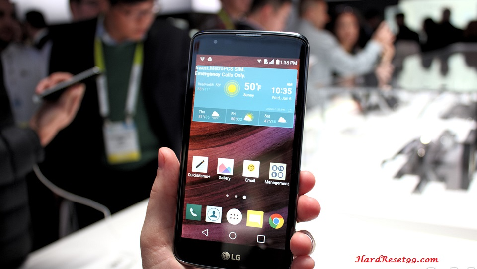 LG K7 LTE Hard reset, Factory Reset and Password Recovery