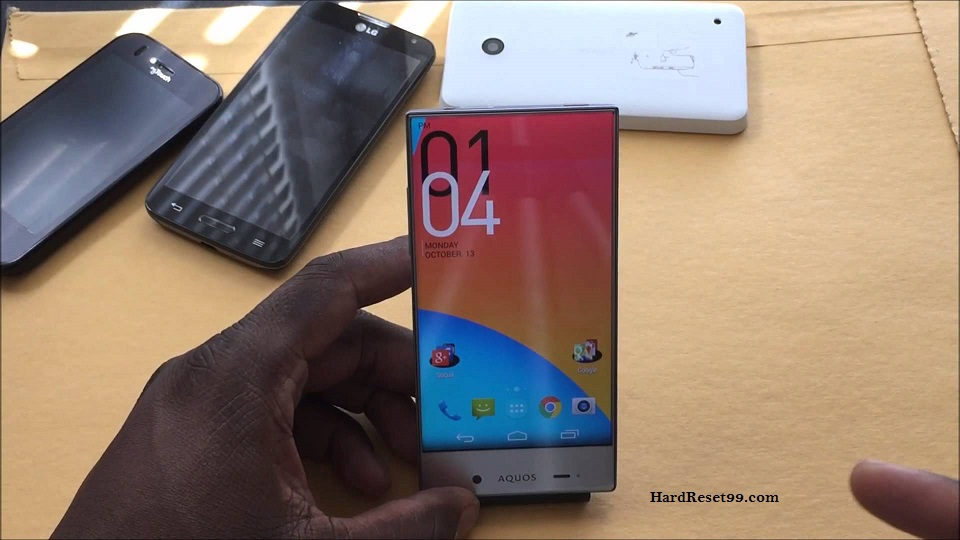 Sharp Aquos Crystal 2 Hard reset, Factory Reset and Password Recovery