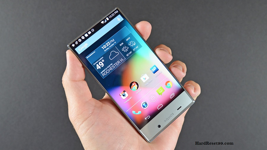 Sharp Aquos Crystal Y Hard reset, Factory Reset and Password Recovery