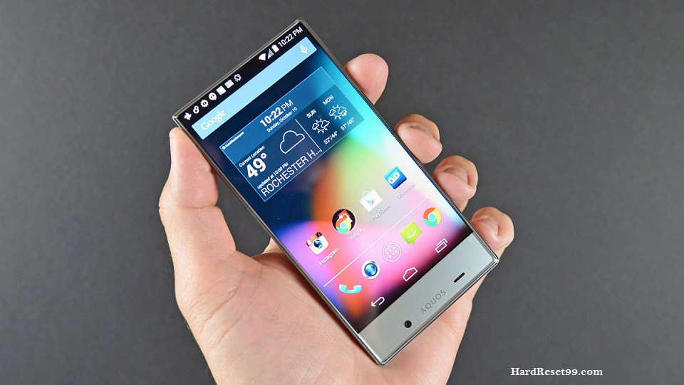 Sharp Aquos Crystal Hard reset, Factory Reset and Password