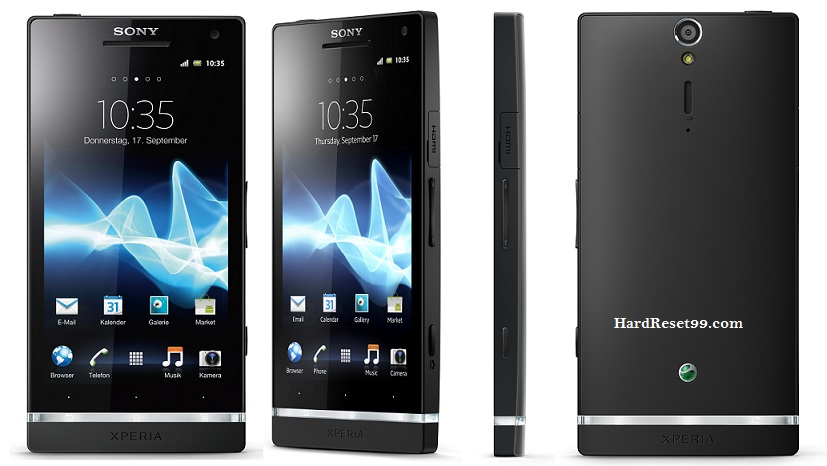 Sony Xperia A Hard reset, Factory Reset and Password Recovery
