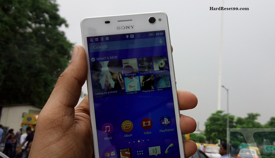 Sony Xperia C4 Dual Hard reset, Factory Reset and Password Recovery