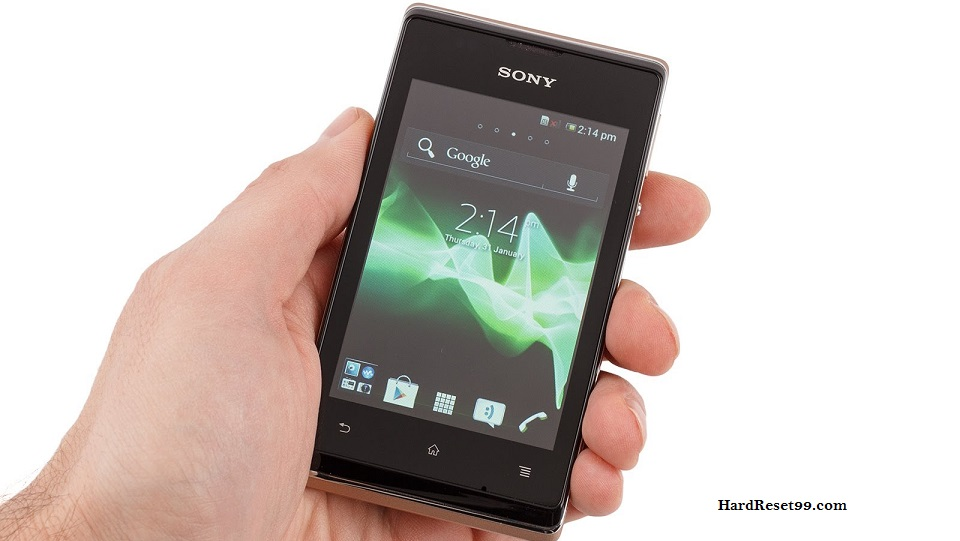 Sony Xperia E dual Hard reset, Factory Reset and Password Recovery
