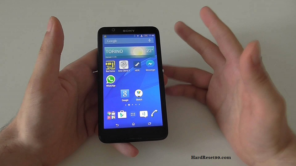 Sony Xperia E4 Dual Hard reset, Factory Reset and Password Recovery