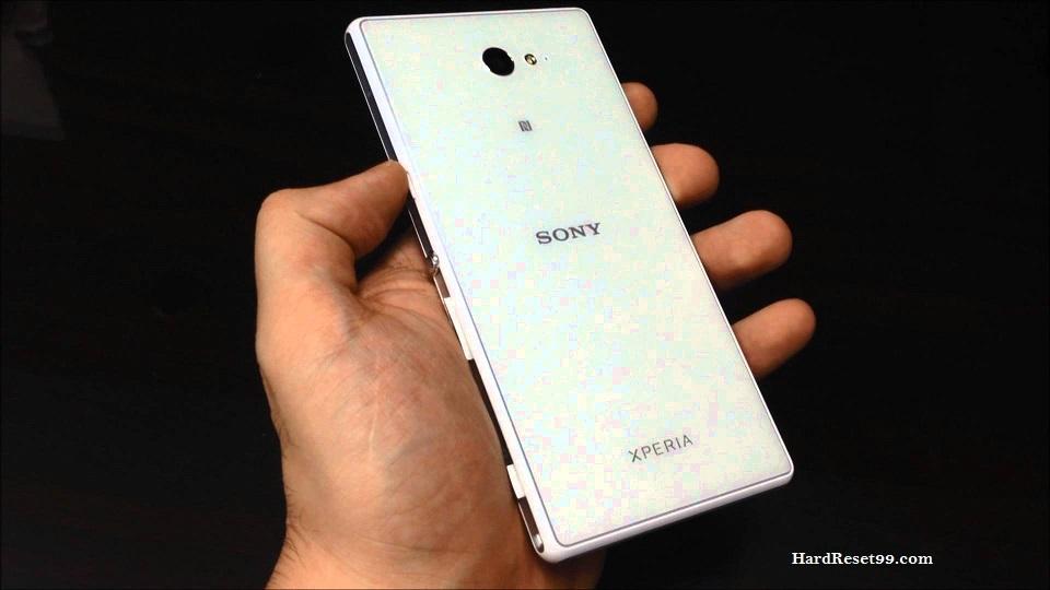 Sony Xperia M2 Aqua Hard reset,