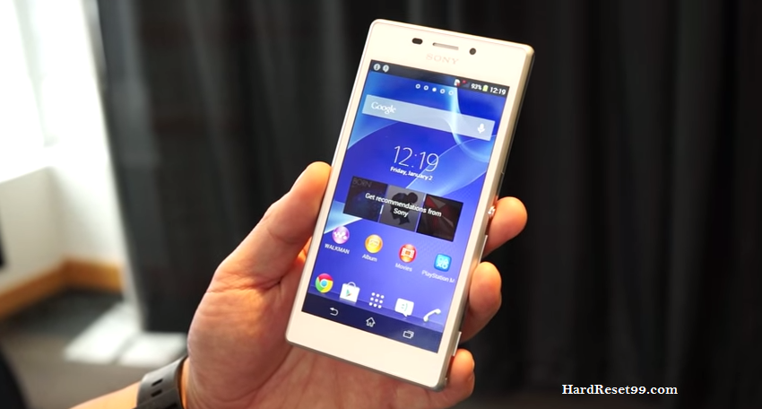 Sony Xperia M2 LTE Hard reset, Factory Reset and Password Recovery