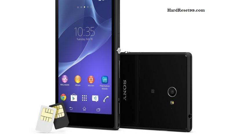 Sony Xperia M2 S50h Hard reset, Factory Reset and Password Recovery