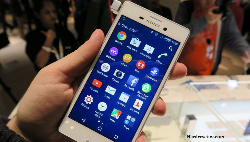 Sony Xperia M4 Aqua Hard reset, Factory Reset and Password Recovery