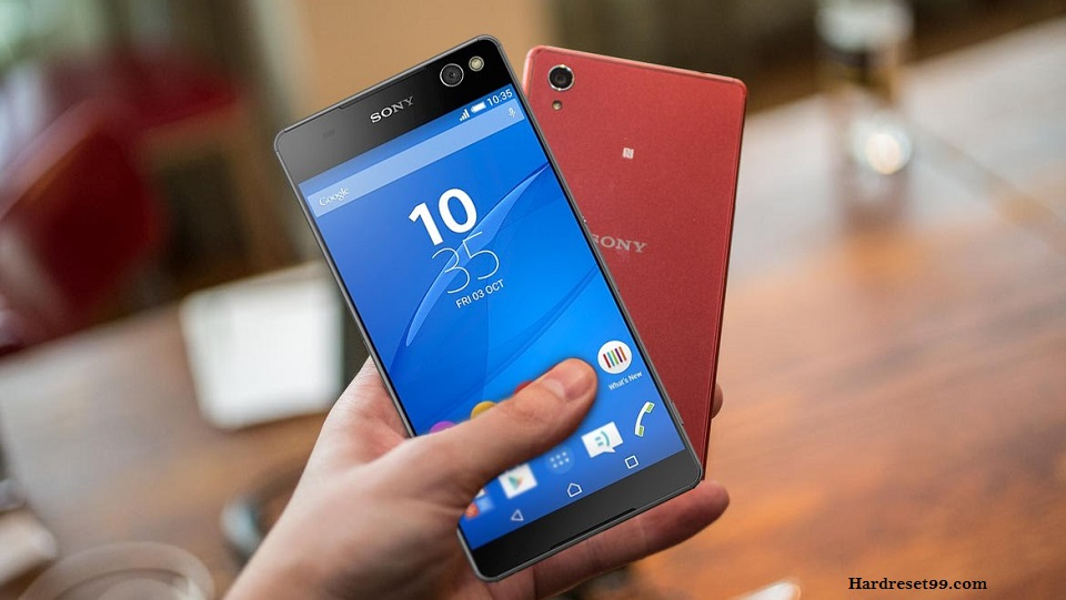 Sony Xperia M5 Dual Hard reset, Factory Reset and Password