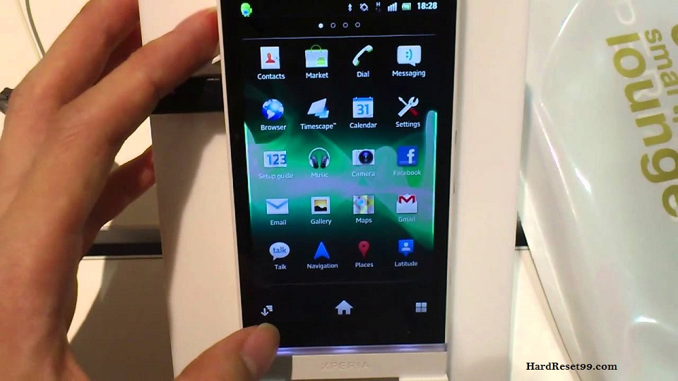 Sony Xperia NX SO-02D Hard reset, Factory Reset and Password Recovery