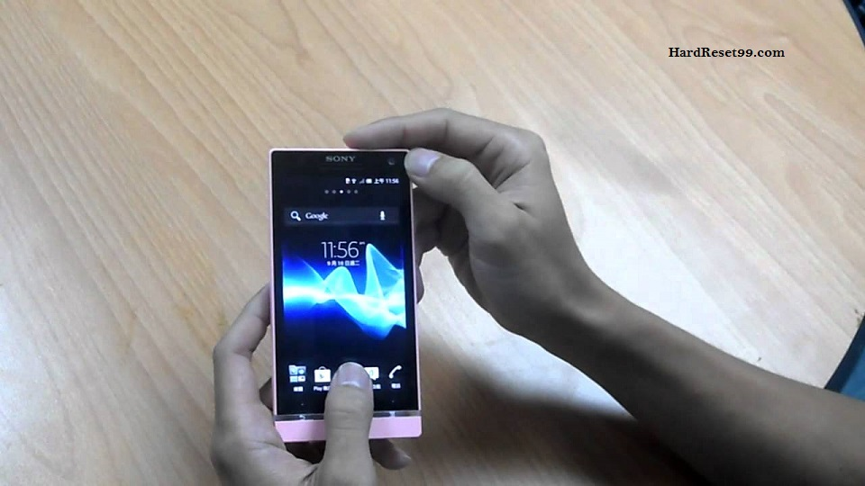 Sony Xperia SL Hard reset, Factory Reset and Password Recovery