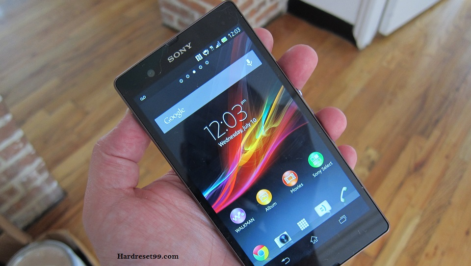Sony Xperia T LTE Hard reset, Factory Reset and Password Recovery