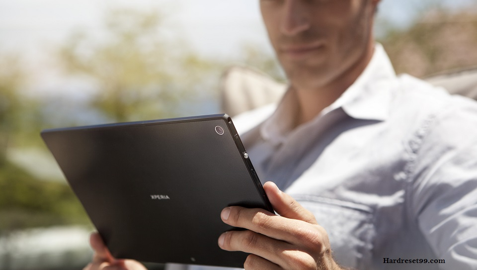 Sony Xperia Tablet Z WiFi Hard reset, Factory Reset and Password Recovery