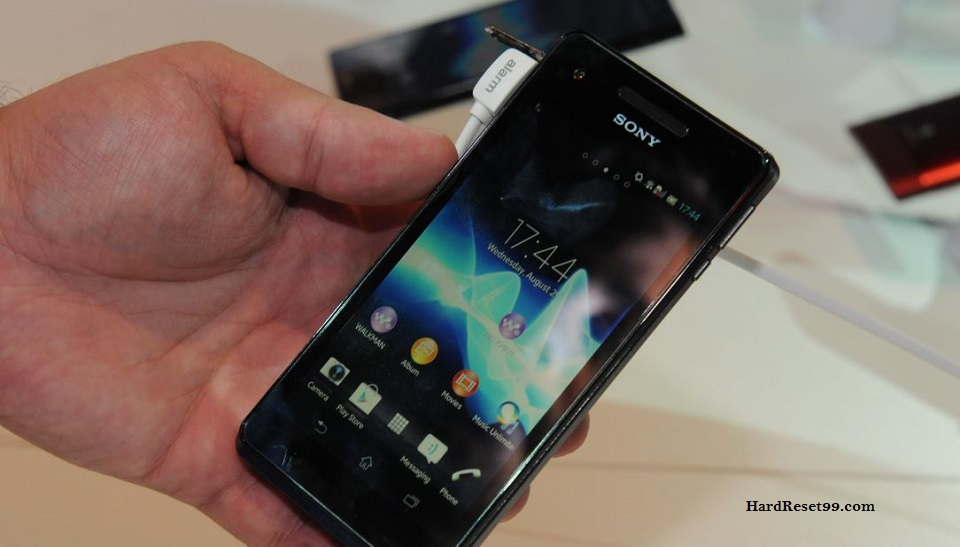Sony Xperia V Hard reset, Factory Reset and Password Recovery