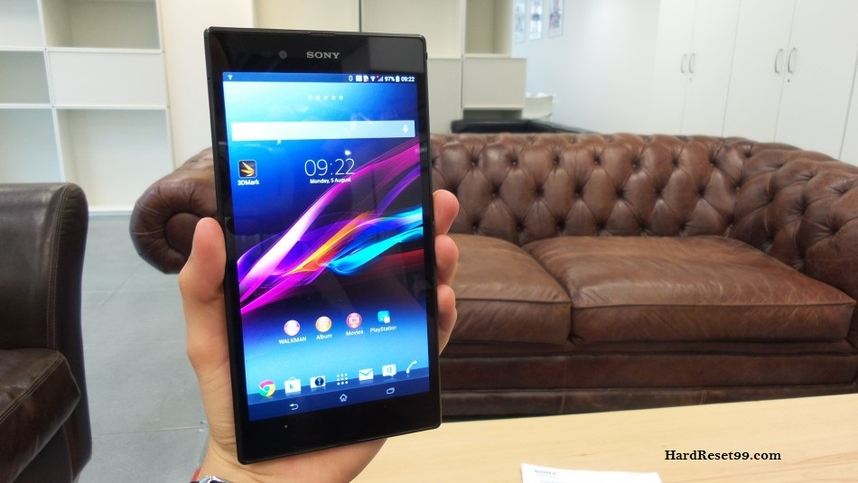 Sony Xperia Z Ultra Hard reset, Factory Reset and Password Recovery