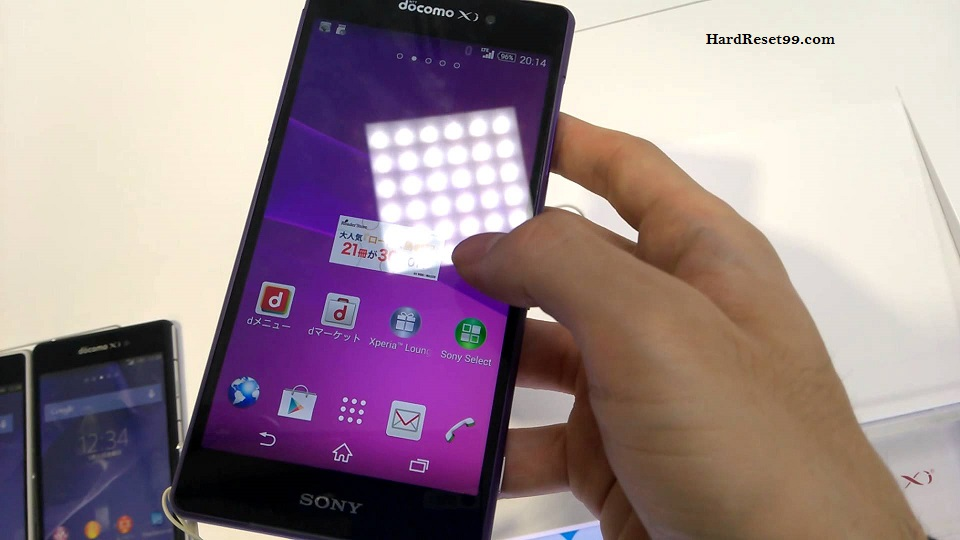 Sony Xperia Z2 SO-03F Hard reset, Factory Reset and Password Recovery