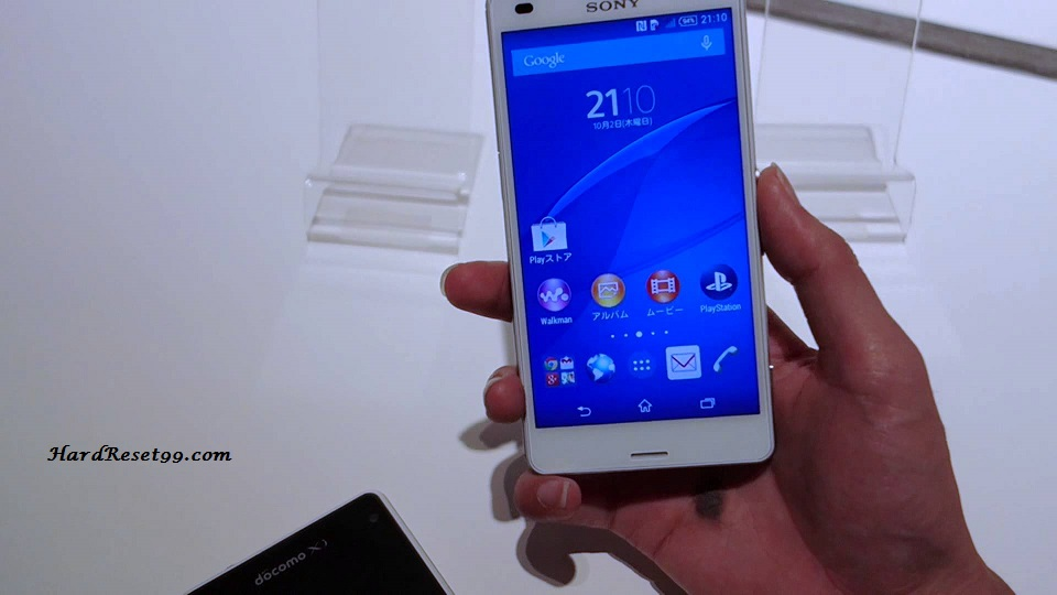 Sony Xperia Z3 Compact SO-02G Hard reset, Factory Reset and Password Recovery