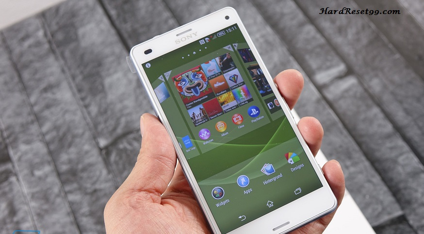 Sony Xperia Z3 Compact Hard reset, Factory Reset and Password Recovery