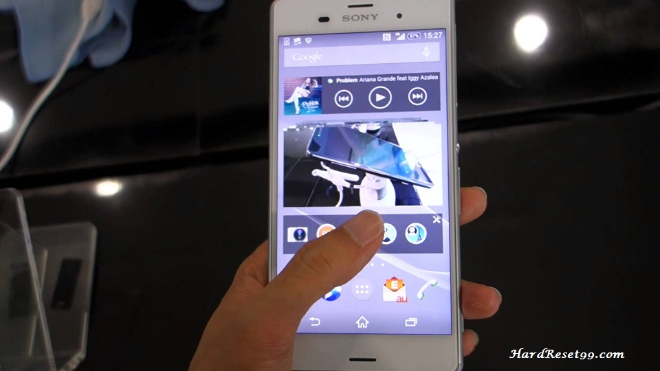 Sony Xperia Z3 SOL26 Hard reset, Factory Reset and Password Recovery