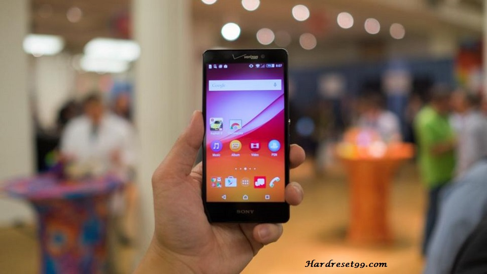 Sony Xperia Z4v Hard reset, Factory Reset and Password Recovery