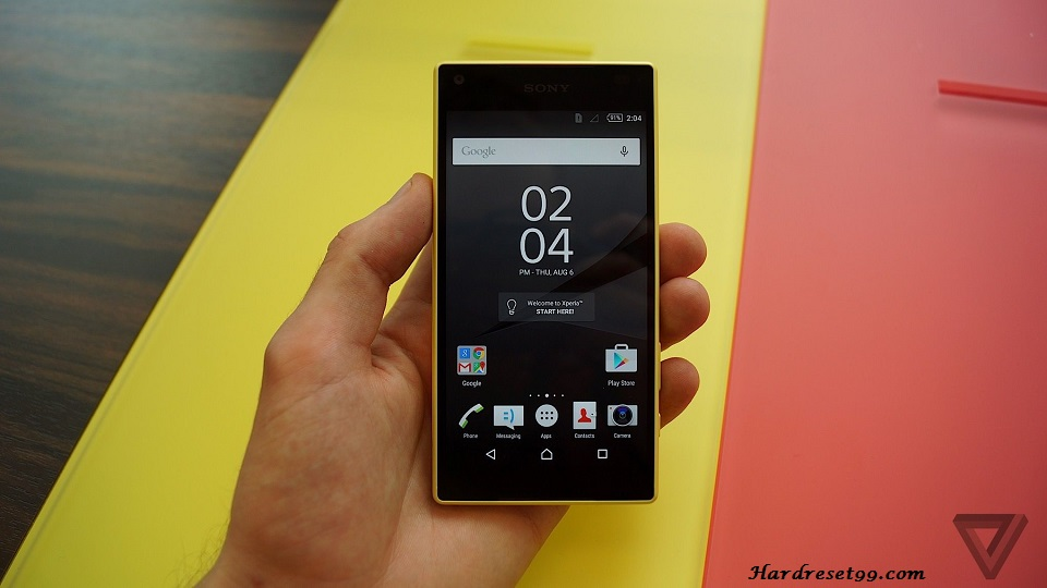 Sony Xperia Z5 Compact Hard reset, Factory Reset and Password Recovery