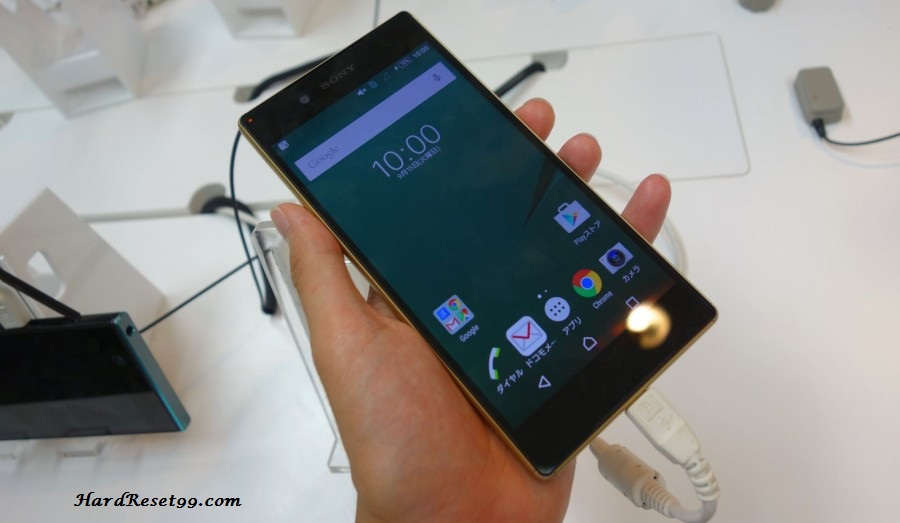 Sony Xperia Z5 SO-01H Hard reset, Factory Reset and Password Recovery