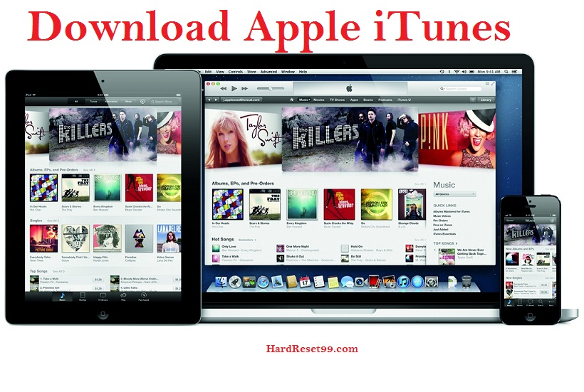 how to download apple itunes for PC