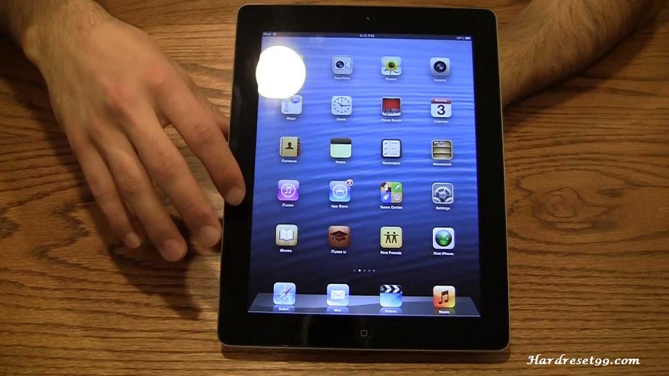 Apple iPad 4 32 GB Hard Reset, Factory Reset & Password Recovery