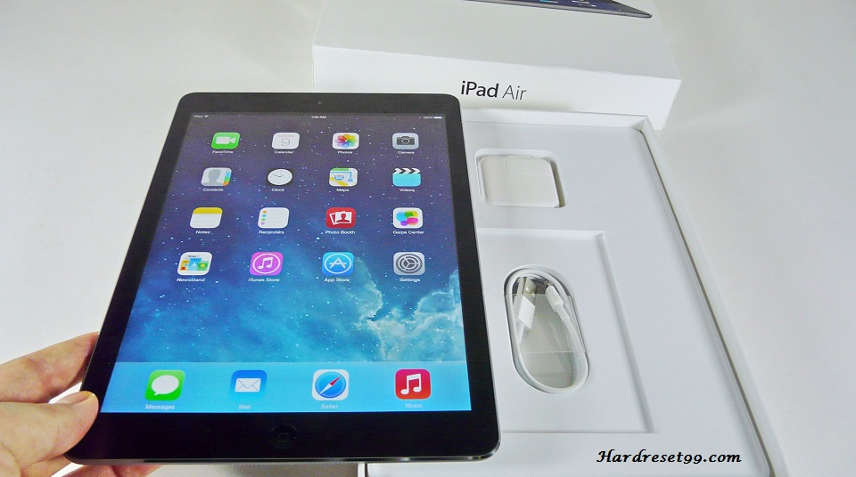 Apple iPad Air Wi-Fi 32GB Hard Reset, Factory Reset & Password Recovery