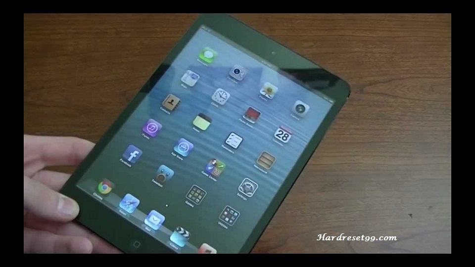 Apple iPad Wi-Fi 16 GB Hard Reset, Factory Reset & Password Recovery