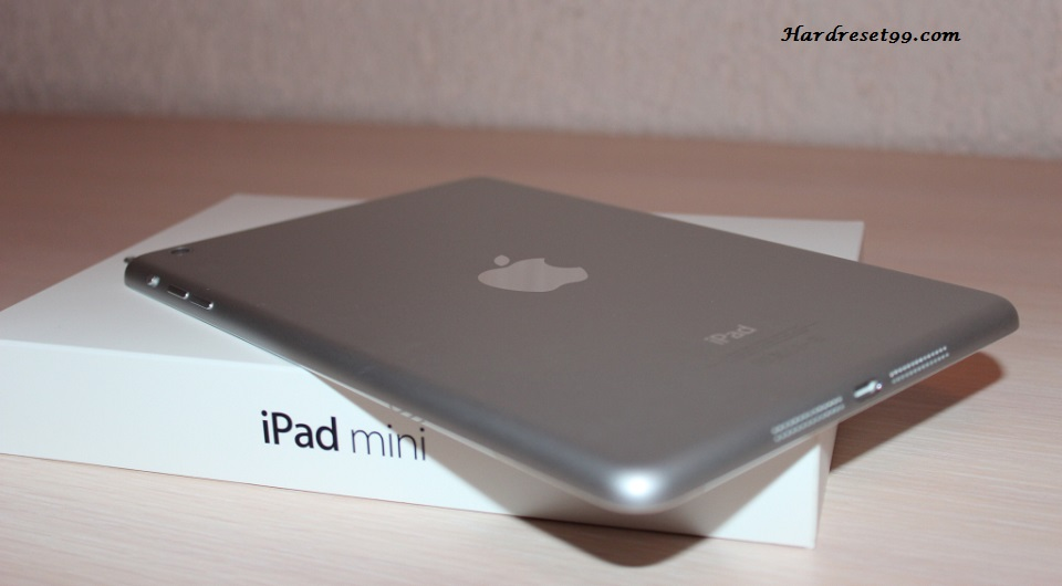 Apple iPad mini 2 Wi-Fi 32GB Hard Reset, Factory Reset & Password Recovery