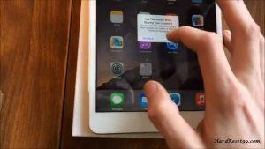 Apple iPad mini 3 64GB Hard Reset, Factory Reset & Password Recovery