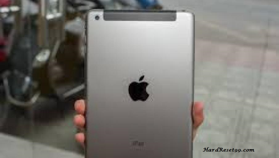 Apple iPad mini 3 WiFi Hard Reset, Factory Reset & Password Recovery